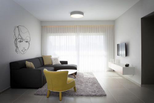 简约风格白色客厅飘窗美图欣赏