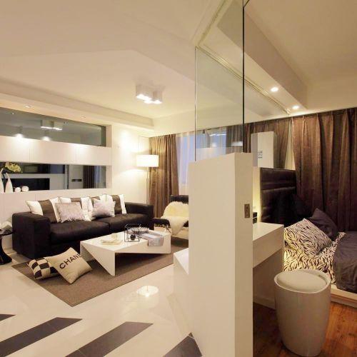 简约室内客厅背景墙设计效果图