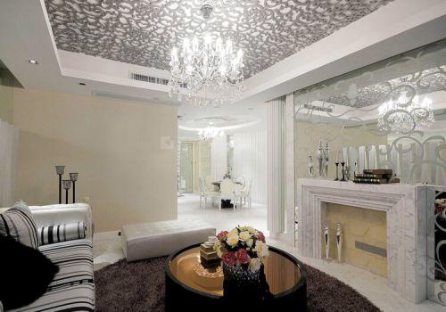 精美现代客厅吊顶设计