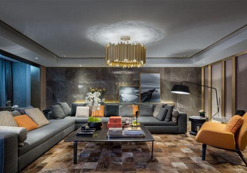 创意现代客厅吊顶设计
