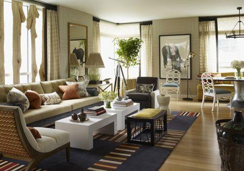 现代清新窗帘设计美图