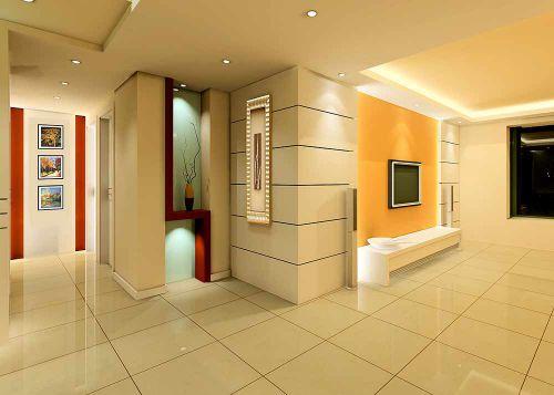 精美雅致现代风格客厅过道设计