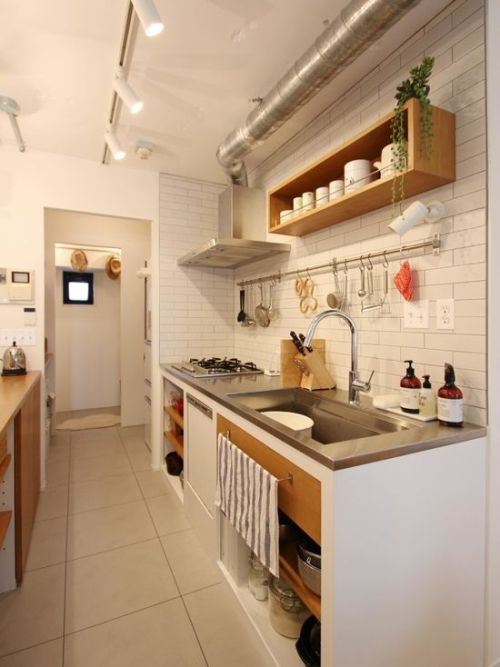 日式简约厨房设计图片案例