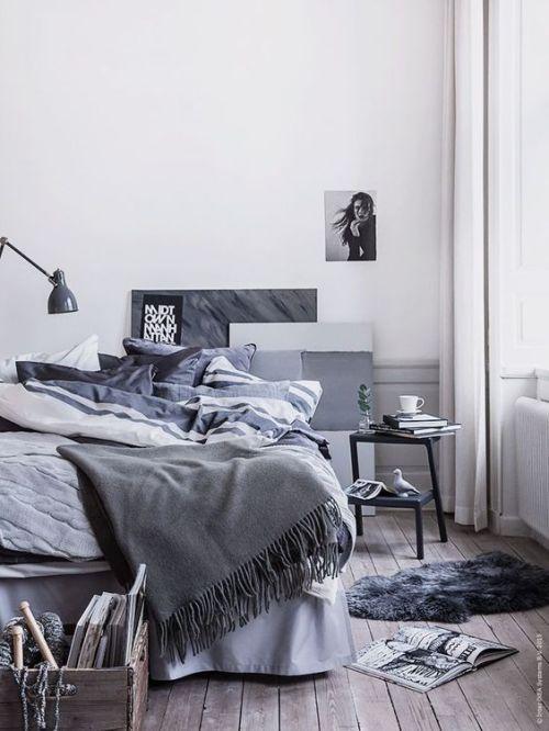 简欧风格卧室案例欣赏
