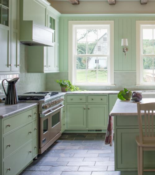 田园厨房收纳设计方案