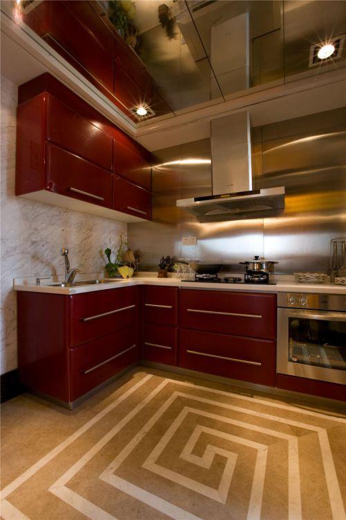 新古典混搭厨房装修图