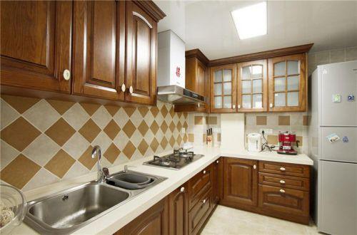 现代简约美式厨房设计案例展示