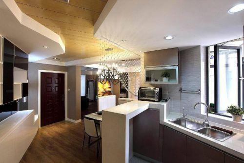 现代简约厨房设计案例