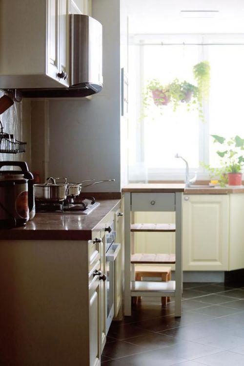 现代简约美式厨房装修案例