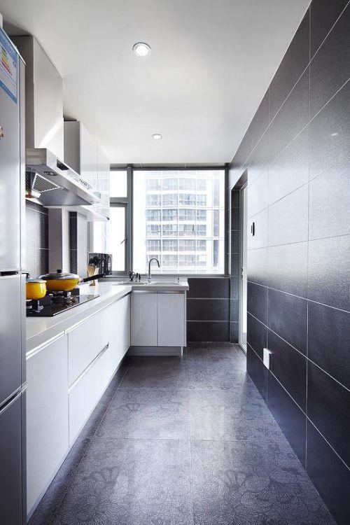现代简约厨房装修效果展示