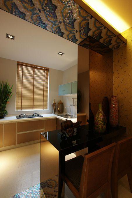 中式厨房设计案例