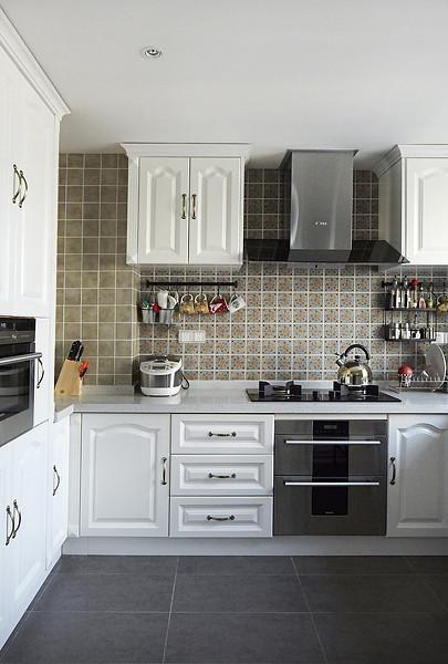 中式美式厨房装修案例