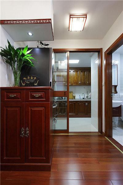 送给父母的新中式,一室一厅改三室一厅