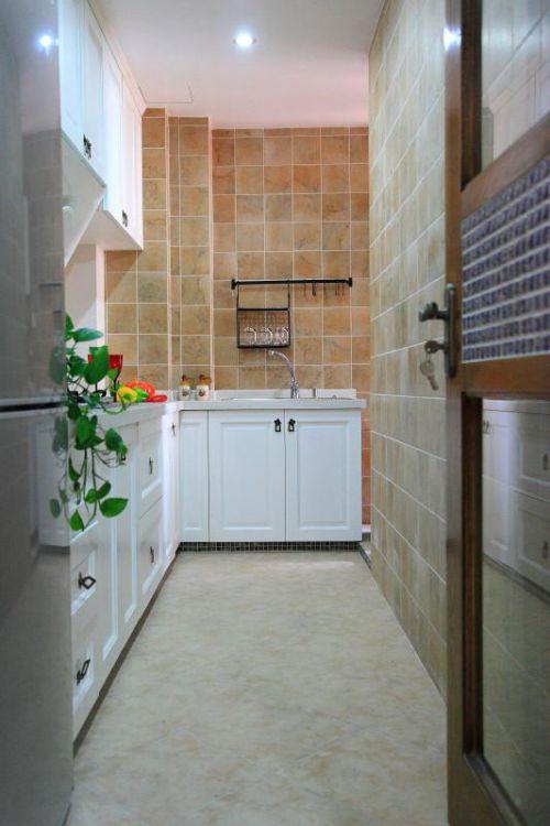 现代简约中式厨房装修效果展示