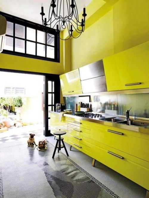 现代简约厨房收纳装修效果展示