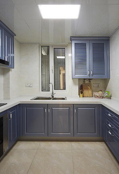 欧式混搭厨房装修效果展示