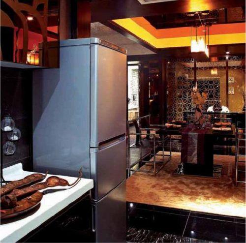 中式厨房装修效果展示