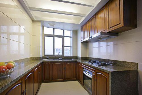 现代简约中式厨房设计方案