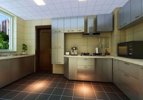 中式简约中式风格厨房案例展示