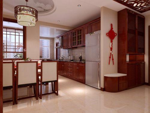 中式中式风格厨房装修效果展示