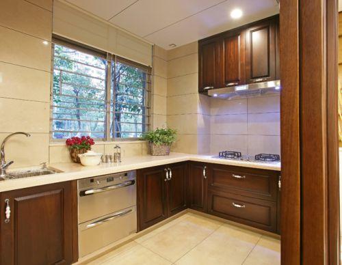 中式中式风格新中式厨房装修案例
