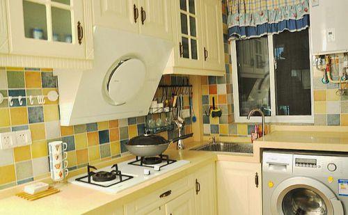 地中海混搭厨房设计方案