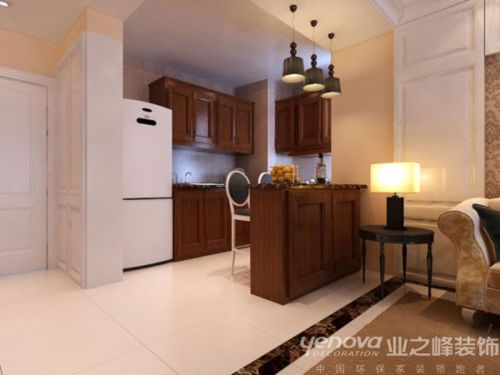 新古典厨房吊顶装修图