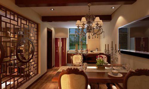 新古典餐厅厨房吊顶设计图