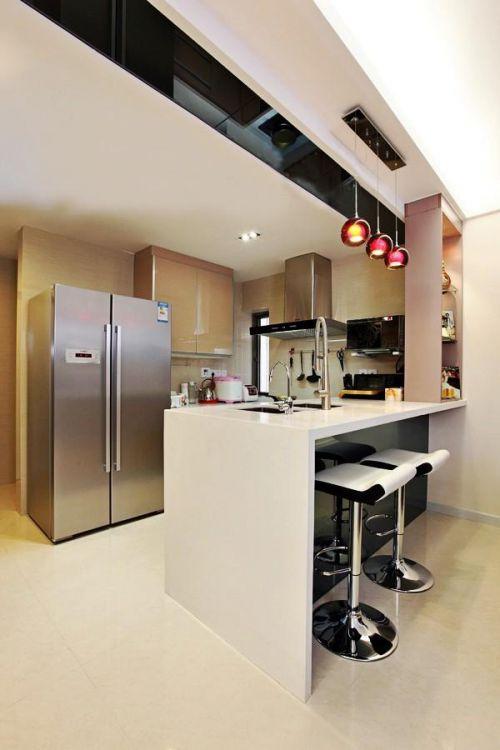 现代简约新古典厨房设计案例展示