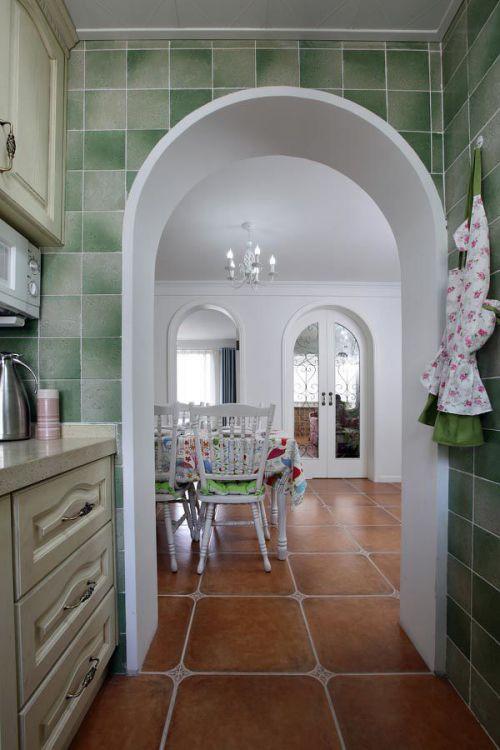 地中海混搭厨房设计图