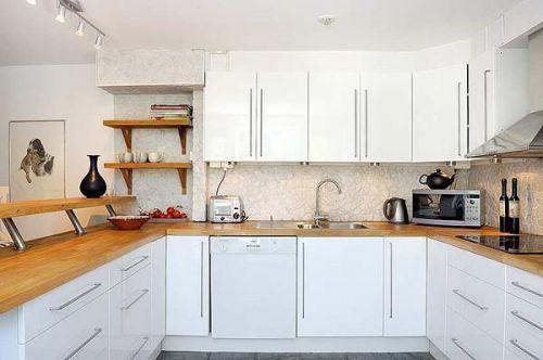 现代简约混搭厨房装修效果展示
