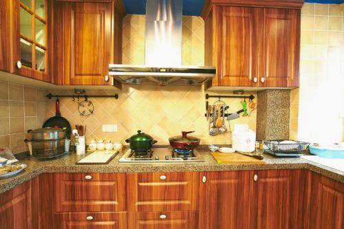 新古典混搭厨房设计案例展示