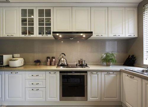 美式混搭复古厨房设计案例