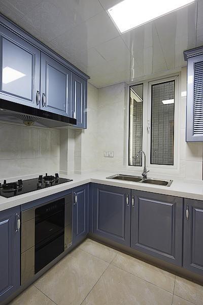 欧式混搭厨房设计方案