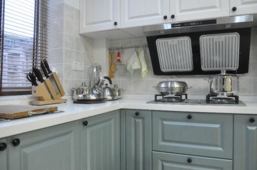 美式混搭厨房设计图