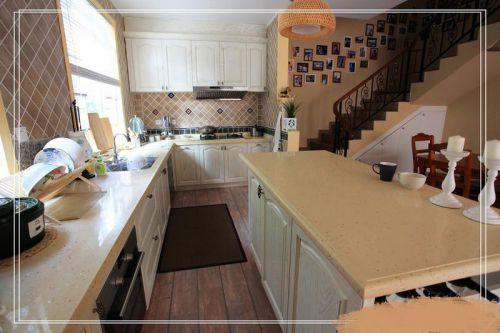现代简约美式混搭厨房设计方案
