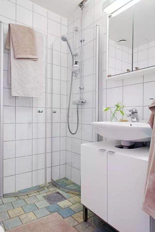 北欧卫生间收纳设计方案