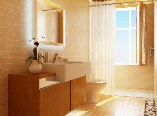 中式卫生间设计案例