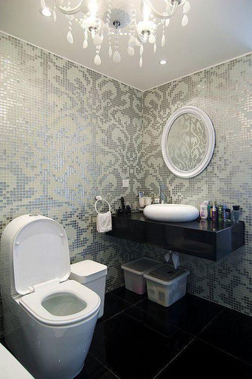 现代简约卫生间设计案例