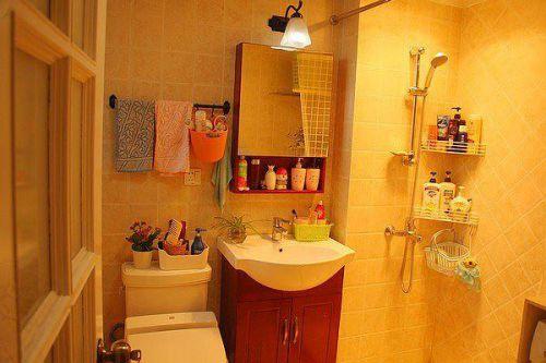 现代简约美式卫生间装修效果展示