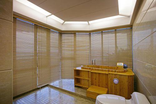 中式日式卫生间装修案例