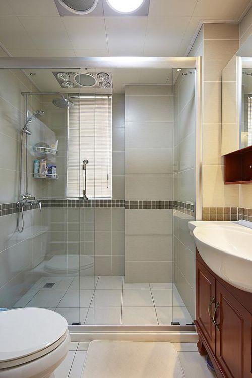 现代简约日式混搭卫生间设计案例展示