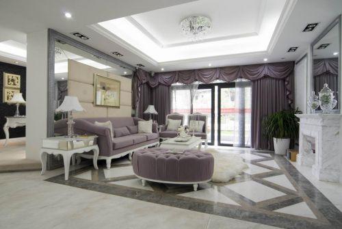 欧式古典客厅设计方案
