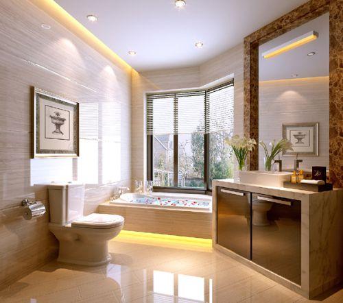 中式混搭现代卫生间设计案例展示