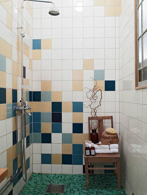 现代简约地中海美式混搭复古卫生间装修效果展示