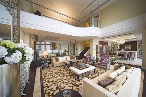 现代简约简欧新古典客厅图片