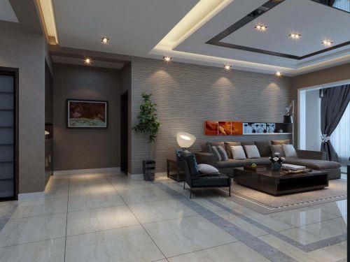 现代简约客厅装修图