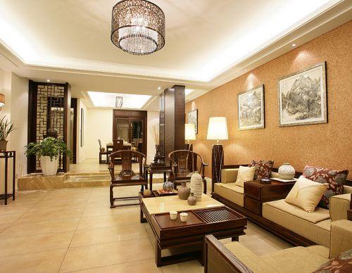 中式中式风格新中式客厅设计案例