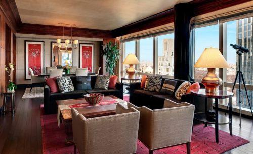 中式客厅别墅图片