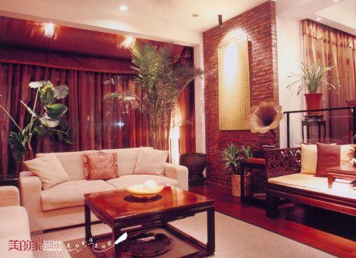 中式客厅别墅设计案例展示